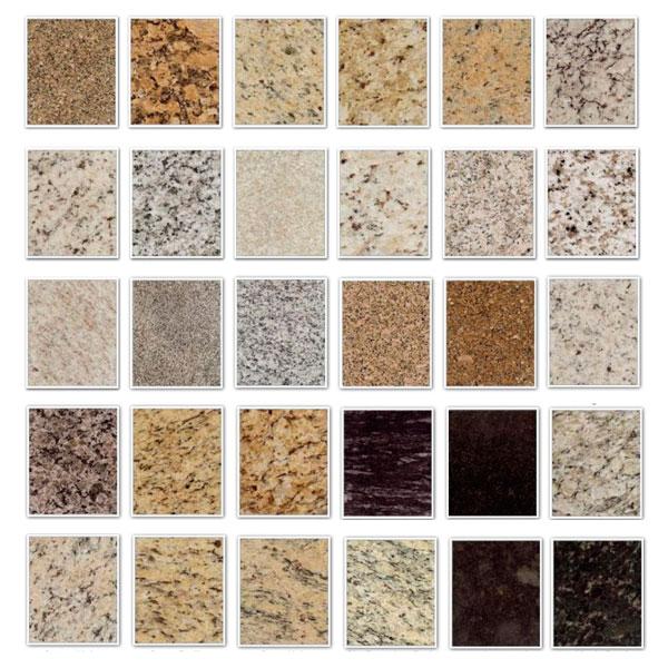 Colores de granito para encimeras perfect pequeas losas - Encimeras de granito colores ...