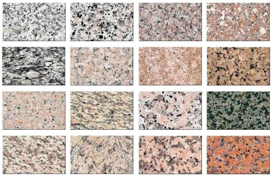 Colores del granito pedras salgadas with colores del for Granito color verde