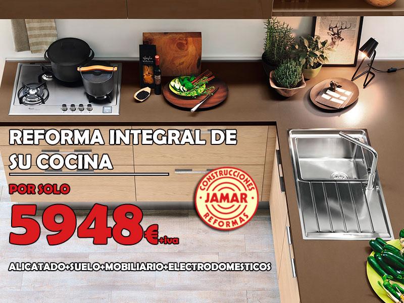 Jamar oferta reforma integral de cocina - Reforma integral cocina ...