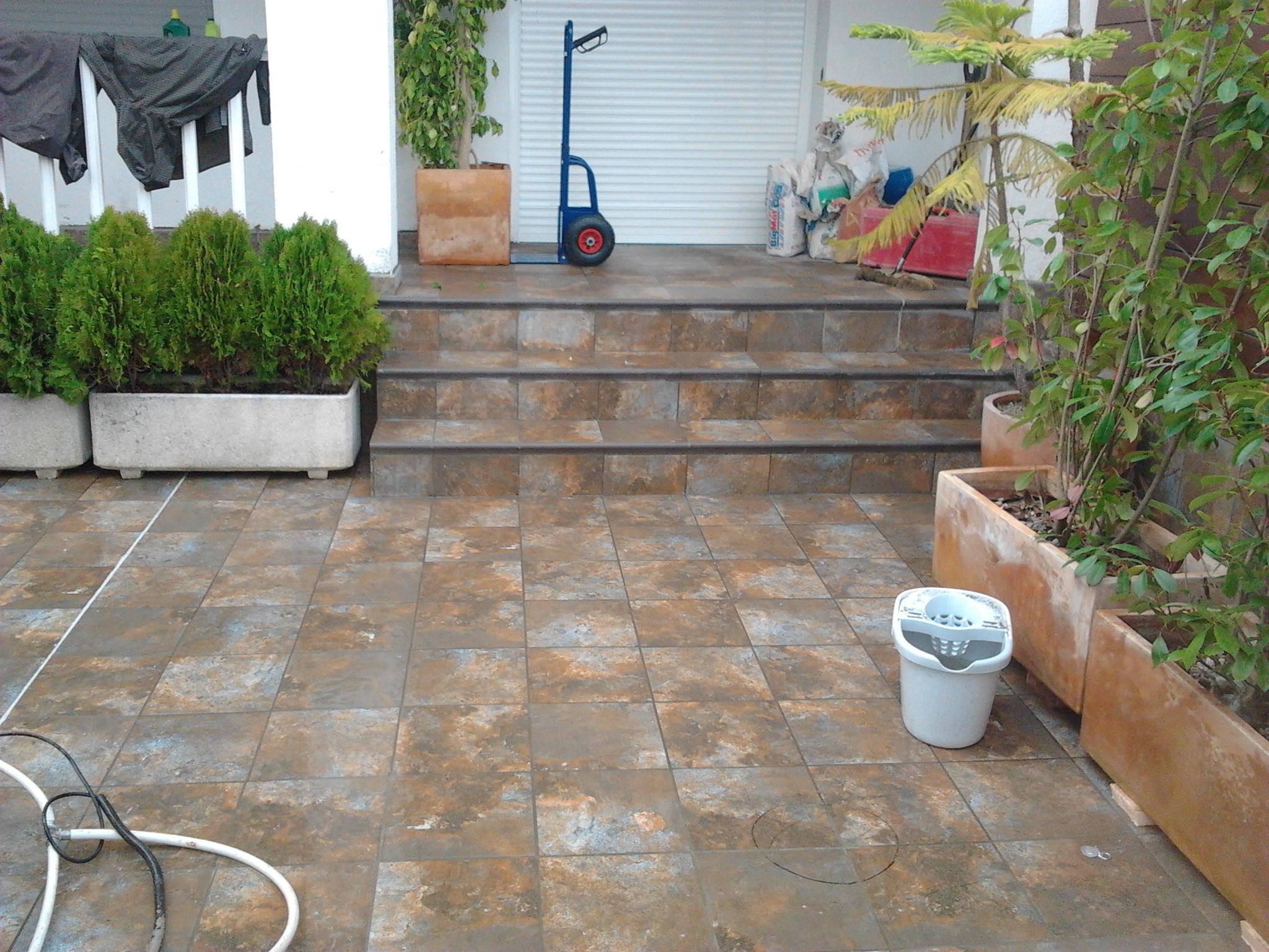 Precio m2 solado gres porcelanico fabulous imagen with for Poner suelo terraza exterior